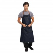 Chef Works Memphis lang schort indigo
