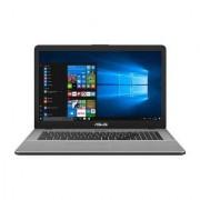 "Asus VivoBook Pro N705UD-GC014T 2.5GHz i5-7200U 17.3"" 1920 x 1080Pixel Grigio, Metallico Computer portatile notebook/portatile"