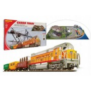 Trenulet electric - set de start CARGO cu diorama Mehano