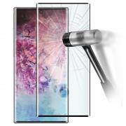 Protetor de Ecrã de Vidro Temperado com Cobertura Total para Samsung Galaxy Note10+ - Preto