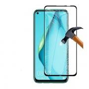 Pelicula de vidro 5D preta para Huawei P40 Lite