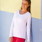 Fruit of the Loom Lady Fit Valueweight Long Sleeve * Fri Frakt *