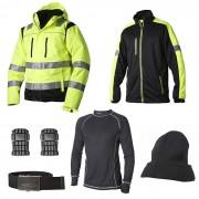 Vidar Workwear Gul Vinterpaket Strl XL