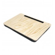 Kikkerland tablet houder met schootkussen Ibed XL - Hout