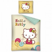 Lenjerie de pat Hello Kitty 160 x 200cm HK08