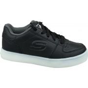 Skechers Energy Lights 90601L-BLK, Vrouwen, Zwart, Sneakers maat: 29 EU