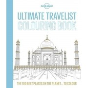 Lonely Planet Ultimate Travelist Colouring Book