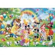 Puzzle ziua de nastere a lui Mickey, 1000 piese Ravensburger