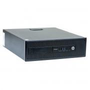 HP Prodesk 600 G1 Intel Pentium G3250 3.20GHz, 4GB DDR3, 500GB HDD, DVD-RW, SFF, Windows 10 Home MAR, calculator refurbished