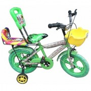 Oh Baby Baby 35.56 Cm (14) double seat bicycle with red color for your kids DBM-XDT-SE-BC-06