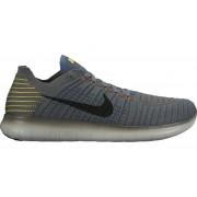 Nike Free Run Flyknit - scarpe running - uomo - Grey