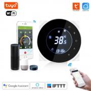 WiFi inteligentný Termostat Dry contact čierný - Tuya Smart Life