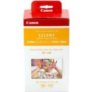Set Canon RP-108 Ribon + set hartie 10 x 15 cm pentru 108 printuri compatibil cu imprimantele CP-820910