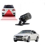 Auto Addict Car Styling Anti Collision Safety Line Led Laser Fog Lamp Brake Lamp Running Tail Light-12V Cars For Mercedes Benz C-Class