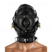 Strict Leather Sensory Deprivation Hood- SM