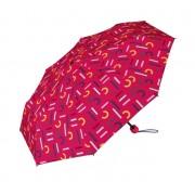 Esprit Umbrelă pentru femei Super Mini With Shopper Pink