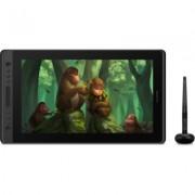 Графичен дисплей таблет HUION Kamvas Pro 16 Premium, USB-C, Черен/Сребрист