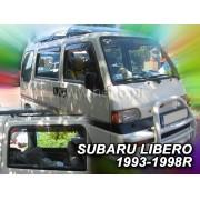 Deflektory komplet 4 ks pre SUBARU Libero , 1993-1999