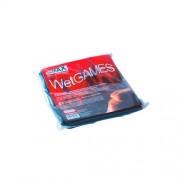 Telo in vinile SexMAX WetGAMES 180 x 220 cm - Nero
