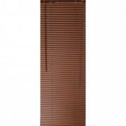 Jaluzea orizontala material PVC, culoare maro, imitatie lemn,inchis, 75cm x 120 cm