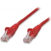 Kabel mrežni Intellinet, Cat5e, U/UTP, RJ45-M/RJ45-M, 3.0 m, crveni