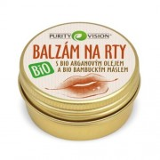 Purity Vision Balsam de buze BIO cu 12 ml ulei de argan organic