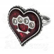 prsten Tough Love - Alchemy Gothic - ULFR5
