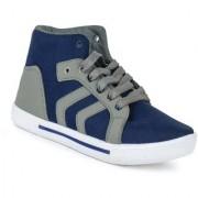 Chevit Men's Arrow Blue Casual Sports Sneaker Shoes
