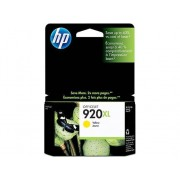 HP Cartucho de tinta Original HP 920XL de Alta Capacidad CD974SE Amarillo para Officejet 6000, 6000 E609a, 6500, 6500 E709a, 6500A, 6500A E710a, 7000...