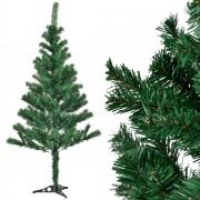[en.casa]® Изкуствена коледна елха със стойка - 150 см.