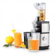 Klarstein Fruitberry Slow Juicer 400W 60U/min Einfüllrohr Ø8,5cm BPA-frei Edelstahl