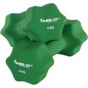 Neoprén bevonatú súlyzó 4 kg MOVIT, 2 db