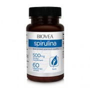 SPIRULINA (Organic) 500mg 60 Tablets