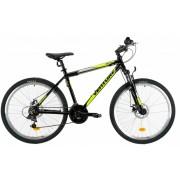 Bicicleta Mtb Venture 2621 M negru galben 26 inch