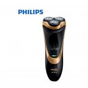 Afeitadora eléctrica Philips AT798 rotativa recargable lavable para hombres Wth Triple hojas flotantes compatible con afeitado en seco y húmedo(Philips)