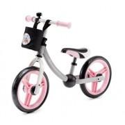 KinderKraft Rowerek Biegowy 2Way Next z Akcesoriami - Light Pink