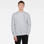 G-star RAW Hommes Sweat Raw Definition Gris