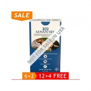 K9 Advantix Extra Large Dogs Over 55 Lbs (Blue) 6 + 2 Free
