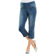 Womens Capture Superstretch Pull-on Crop - Rinsewash Trousers