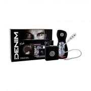 Denim Black confezione regalo eau de toilette 100 ml + doccia gel 250 ml + lampadina LED USB uomo