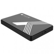 Techly Box Esterno USB3.0 per HDD/SSD SATA 2,5'' Nero