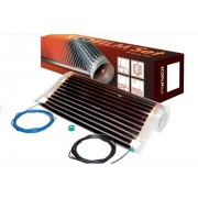 Incalzire electrica in pardoseala sub parchet, Ecofilm Set 1 mp; 130 W, L=2 m