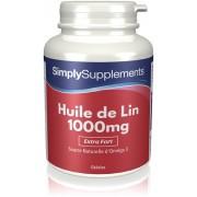 Simply Supplements Huile de Lin 1000mg - 120 Gélules