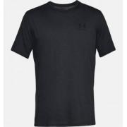 Under Armour Sportstyle Left Chest Short Sleeve Shirt (Färg: Svart, Storlek: XL)