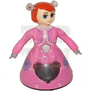 3D Light Music Dancing Doll Princess Girl Robot Dall-Toy For Baby Girls