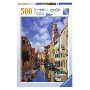 Ravensburger puzzle in venetia, 500 piese