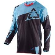 Leatt 4.5 X-Flow Camiseta de Motocross Negro/Azul L