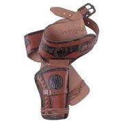 GT-DEKO - Fantasy und Schwert Shop Western Revolvergürtel mit zwei Holstern