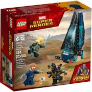 Marvel Super Heroes - Outrider shuttle aanval