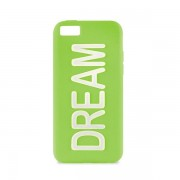Capa em Silicone da Puro para iPhone 5C - Dream - Verde